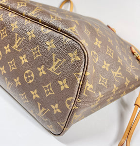 AUTHENTIC Louis Vuitton Neverfull Monogram MM PREOWNED (WBA338)