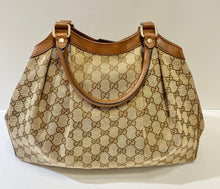 Load image into Gallery viewer, AUTHENTIC Gucci Sukey Brown PREOWNED WBA286)