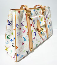 Load image into Gallery viewer, AUTHENTIC Louis Vuitton Aurelia White Multicolore MM Preowned (WBA257)