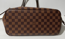 Load image into Gallery viewer, AUTHENTIC Louis Vuitton Neverfull Damier Ebene MM PREOWNED (WBA278)