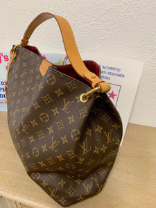 AUTHENTIC Louis Vuitton Graceful MM Pivoine PREOWNED