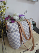 Load image into Gallery viewer, AUTHENTIC Louis Vuitton Totally PM Damier Azur Preowned