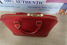 Load image into Gallery viewer, AUTHENTIC Louis Vuitton Alma Red Epi PREOWNED