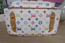 Load image into Gallery viewer, AUTHENTIC Louis Vuitton Rita White Multicolore PREOWNED