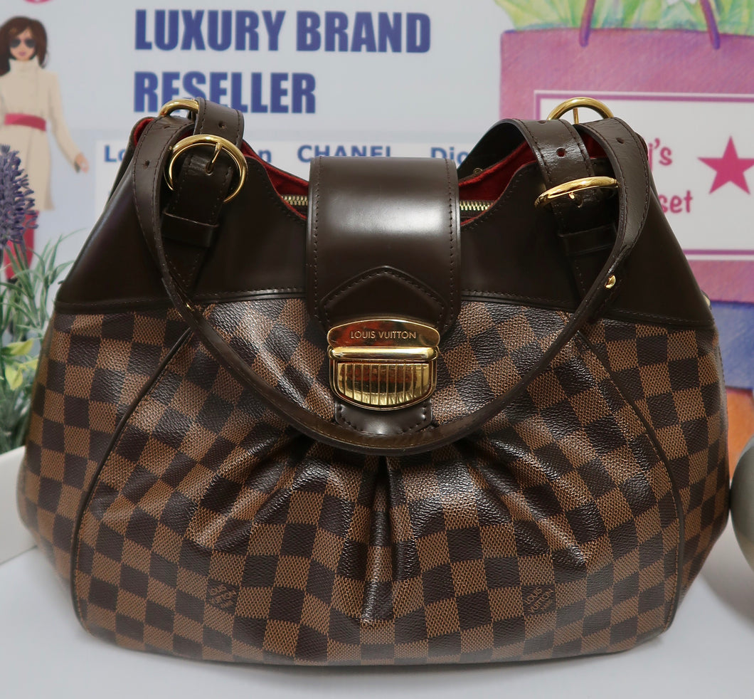 AUTHENTIC Louis Vuitton Sistina GM PREOWNED (WBA170)