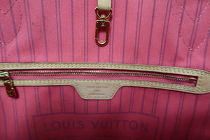 AUTHENTIC Limited Edition Louis Vuitton Neverfull Monogram Ramages MM PREOWNED (WBA190)