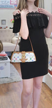 Load image into Gallery viewer, AUTHENTIC Louis Vuitton Shirley Clutch White Multicolore PREOWNED (WBA169)