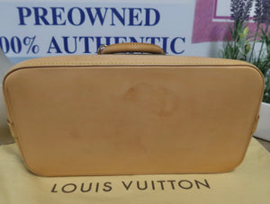 AUTHENTIC Louis Vuitton Alma Monogram PM PREOWNED (WBA194)