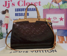 Load image into Gallery viewer, AUTHENTIC Louis Vuitton Brea Vernis Amarante MM PREOWNED