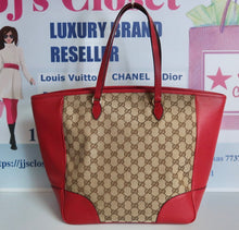 Load image into Gallery viewer, AUTHENTIC Gucci GG Bree Red Preowned (WBA158)