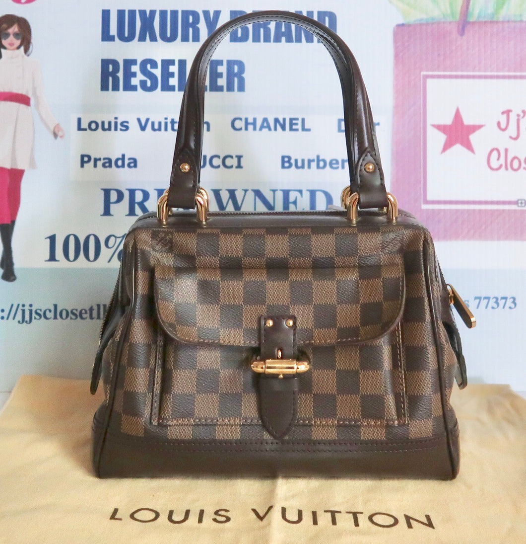 AUTHENTIC Louis Vuitton Knightsbridge Damier Ebene PREOWNED (WBA177)