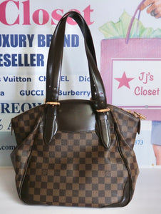 AUTHENTIC Louis Vuitton Verona Damier Ebene PREOWNED (WBA110)