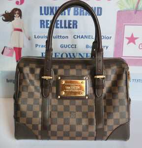 AUTHENTIC Louis Vuitton Berkeley Damier Ebene PREOWNED (WBLS008)