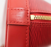 Load image into Gallery viewer, AUTHENTIC Louis Vuitton Alma Red Epi PM PREOWNED (WBA222)