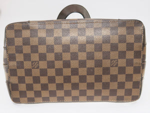 AUTHENTIC Louis Vuitton Hampstead Damier Ebene PM Preowned (WBA231)