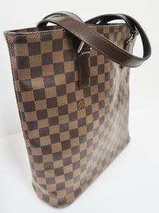 AUTHENTIC Louis Vuitton Vavin Damier Ebene GM PREOWNED (WBA233)
