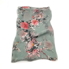 Load image into Gallery viewer, Silky scarf- Summer Blossom