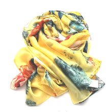Load image into Gallery viewer, Silk Blend Bloom Wrap - Yellow
