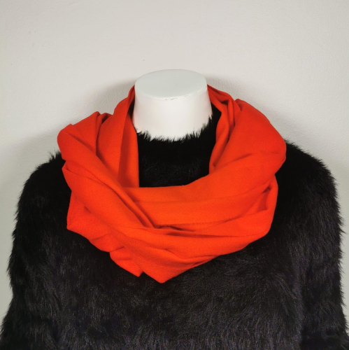 Winter Soft Scarf_New Red