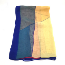 Load image into Gallery viewer, Silky scarf - Modern blockprint