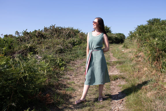 Freya Green Midi Dress