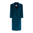 Cicely Cotton Velvet Coat Dress