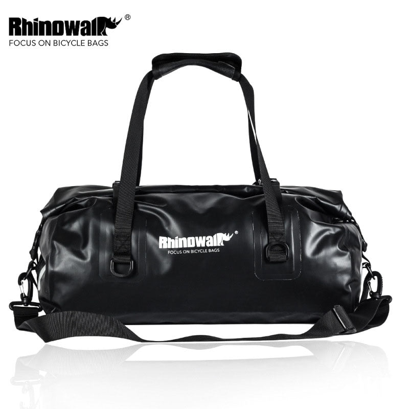 Rhinowalk Bicycle Bag Large Capacity Waterproof Cycling Saddle Bag MTB Road Bike Rear Rack Trunk Bag Luggage Storage Travel Bag