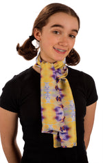 Lovely Lavender Silk Charmeuse Scarf