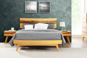 Azara Bed Caramelized