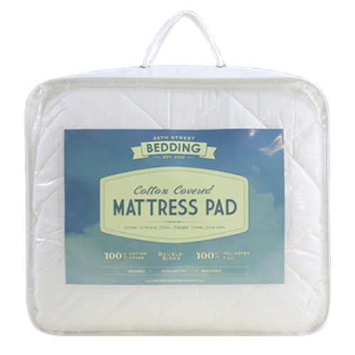 Cotton Covered Mattress Pad