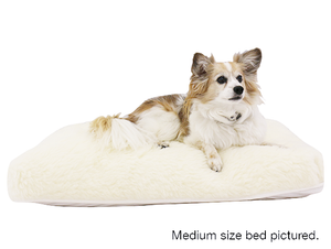 Roan Natural Latex Pet Bed – Shredded Fill