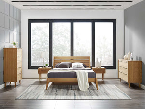 Sienna Bed Caramelized