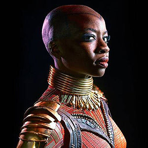 Okoye from Black Panther film