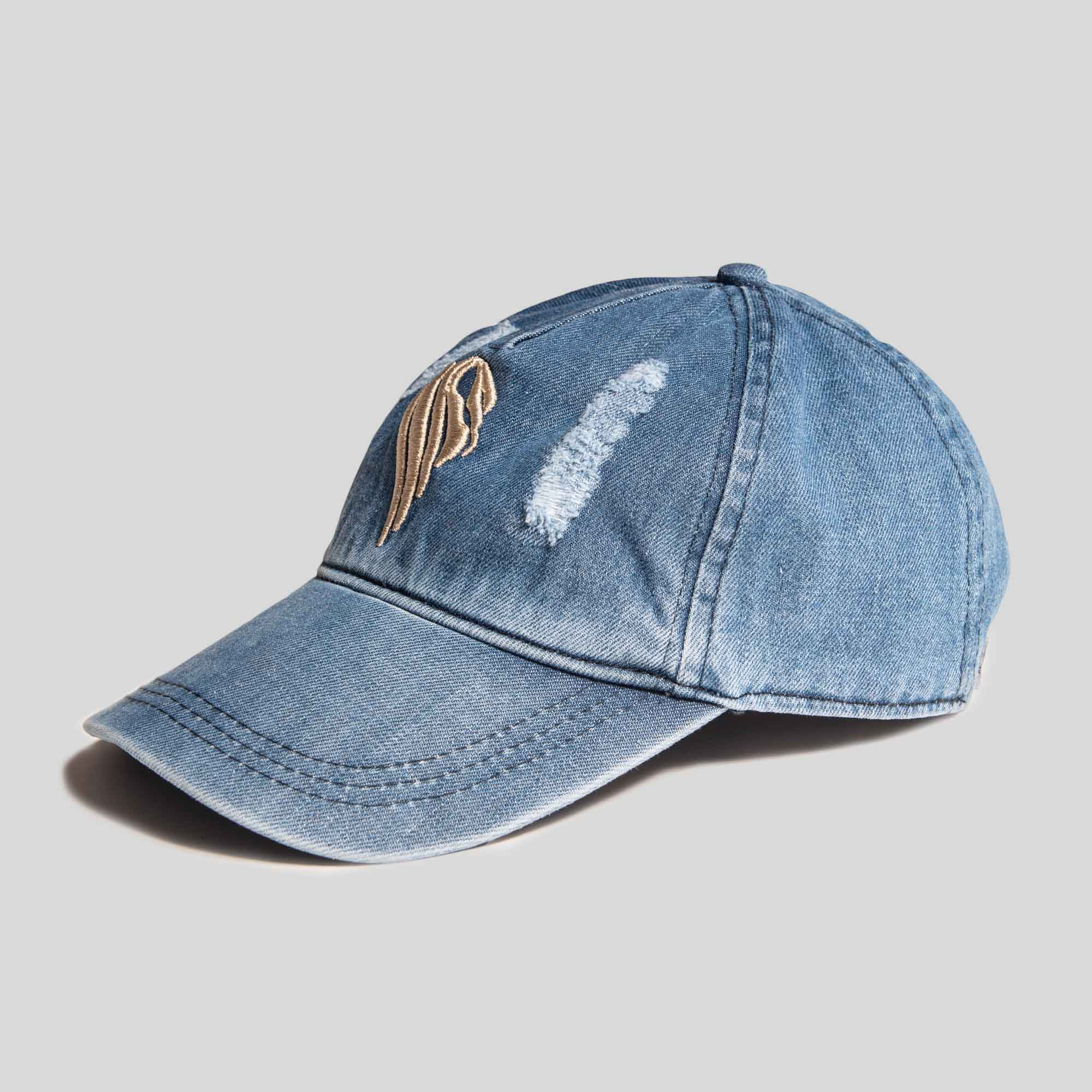 Boys Denim Baseball Cap