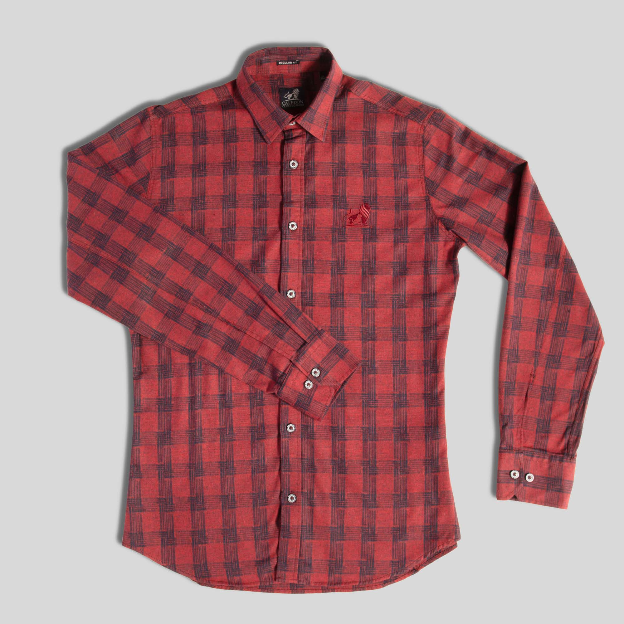 Mens Red and Black Lumberjack Shirt