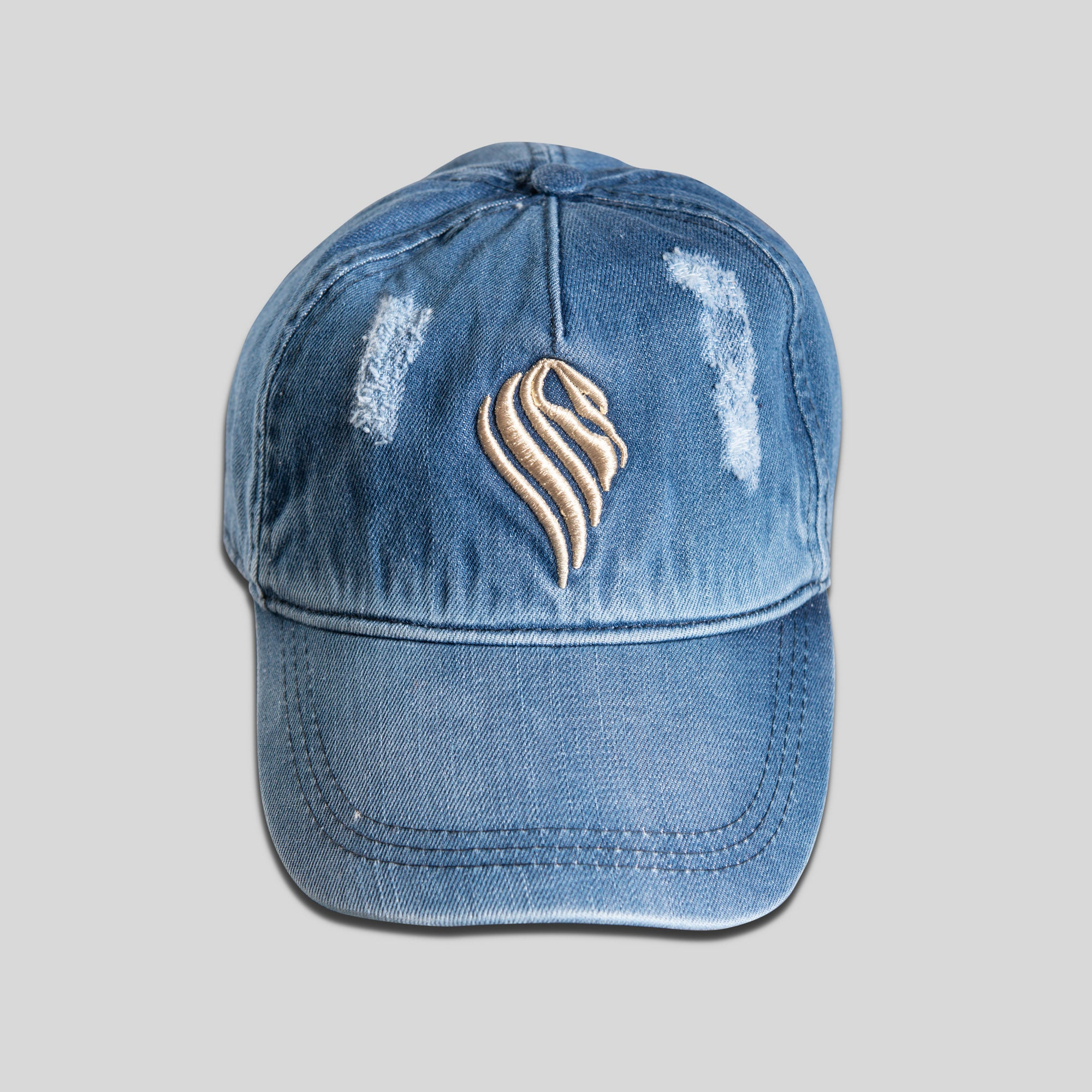 Mens Denim Baseball Cap