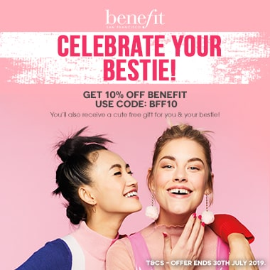 Benefit Cosmetics special offer