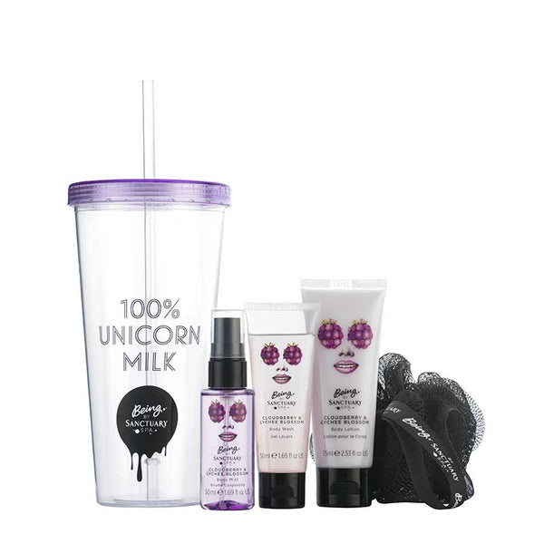 Being by Sanctuary 100% Unicorn Milk Gift Set