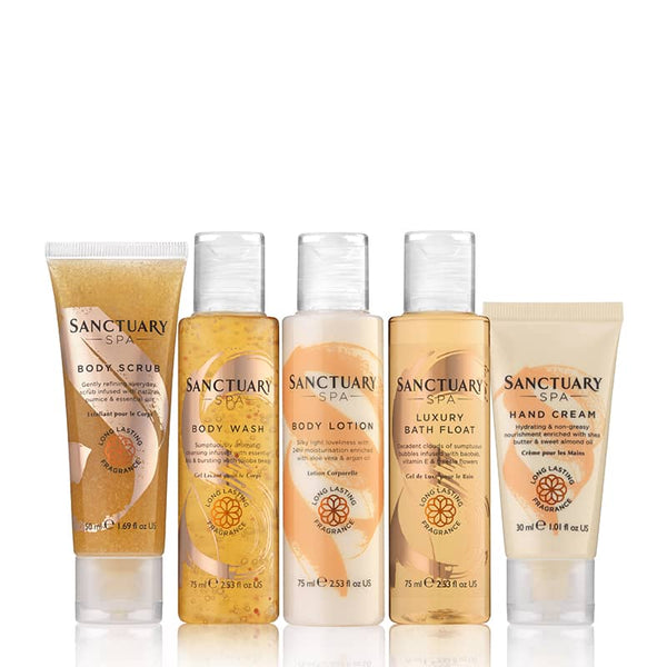 Sanctuary Spend More Time Being Gift Set | 5 Piece Body Care Collection
