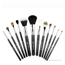 12 Brush Kit - Make Me Classy - Black