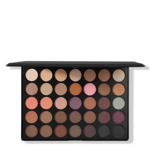 Morphe 35W - 35 Color Warm Palette