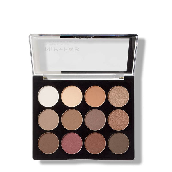 Nip + Fab Eyeshadow Palette - Jewelled Open