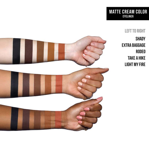 Dose of Colors Set The Tone Cream Matte Eye Colour Swatches