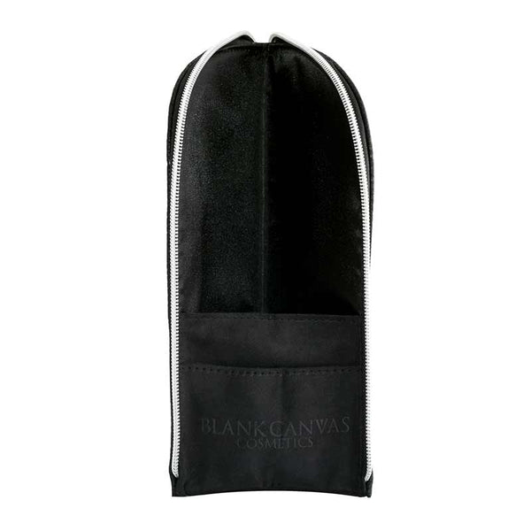 Blank Canvas BC Standee Brush Pouch Black Open