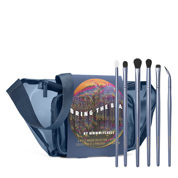 Morphe Bring the Beat by MMMitchell 6-Piece Brush Collection + Belt Bag