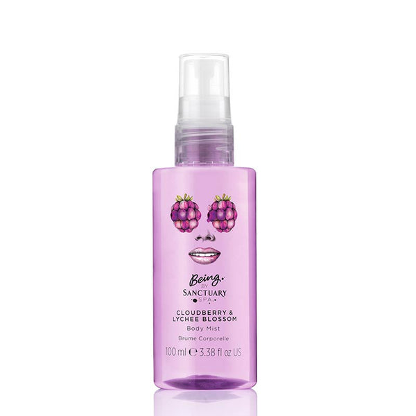Being by Sanctuary Cloudberry & Lychee Blossom Body Mist