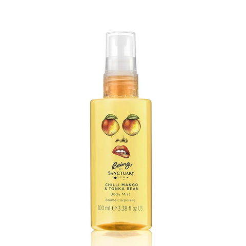 Being by Sanctuary Chilli Mango & Tonka Bean Body Mist