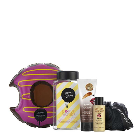 Being by Sanctuary Donut Disturb Salted Caramel & Macadamia Gift Set