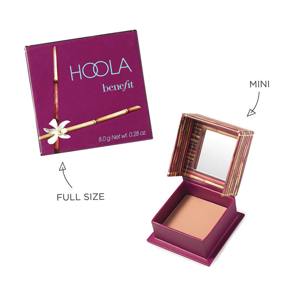 Benefit Hoola bronzer full size and mini
