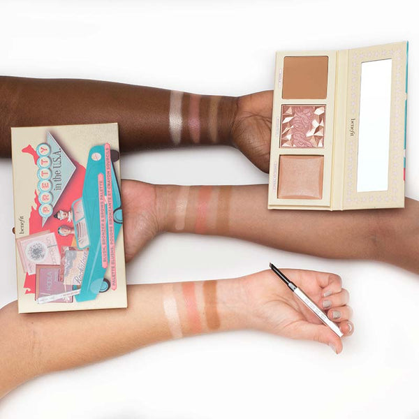 Benefit Pretty In The USA Gift Set Swatches on Arm